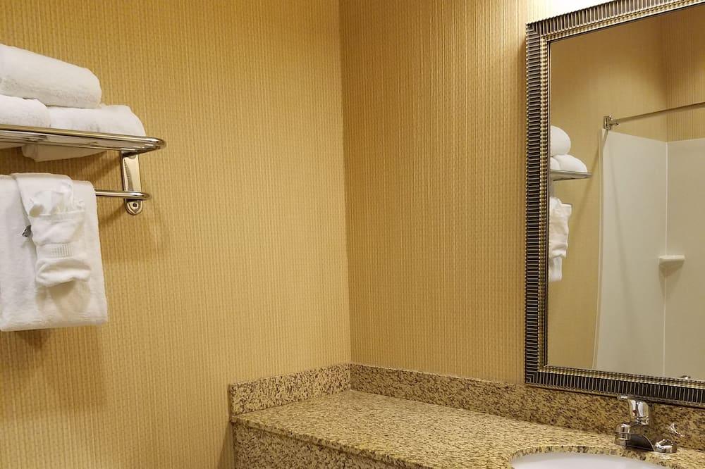 Sviitti, 1 suuri parisänky, Tupakointi kielletty - Kylpyhuone