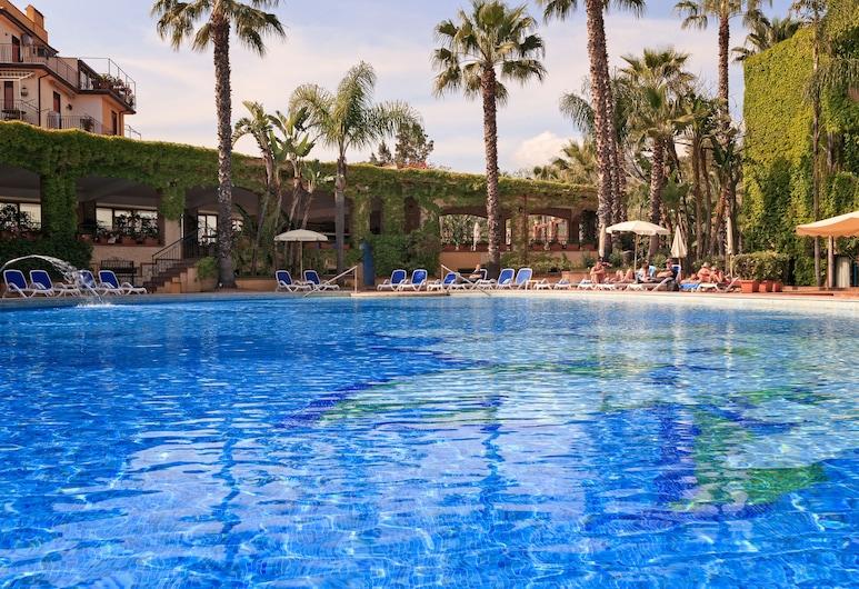 Hotel Caesar Palace, Giardini Naxos, Āra baseins