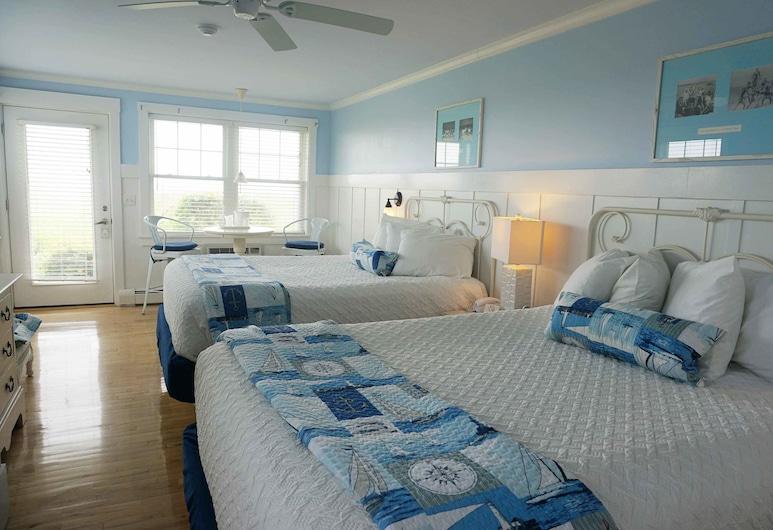 The Edgewater, Old Orchard Beach, Habitación clásica, 2 camas Queen size, frente al mar, Habitación