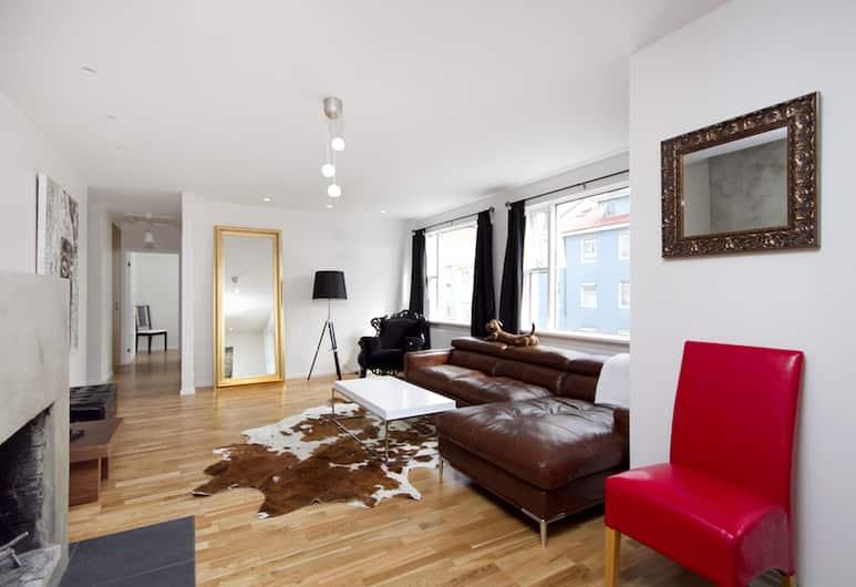 Stay Apartments Einholt, Reykjavík, Superior-íbúð - 3 svefnherbergi, Stofa