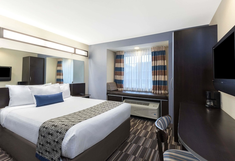 Microtel Inn & Suites by Wyndham Baton Rouge Airport, Baton Rouge, Rom, 1 queensize-seng, ikke-røyk, Gjesterom