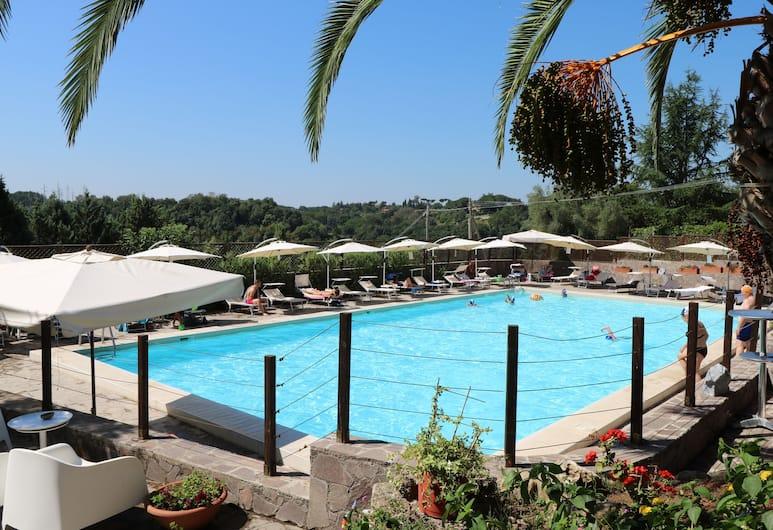 해피 빌리지 앤 캠핑, 로마, 야외 수영장