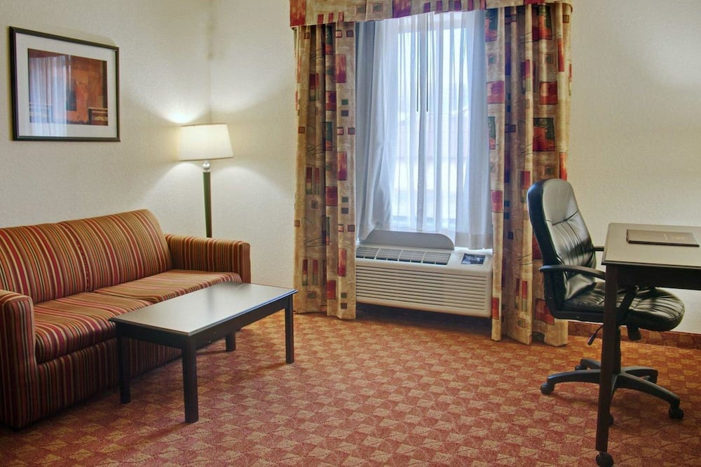 Suite, Multiple Beds, Accessible, Non Smoking - Living Area
