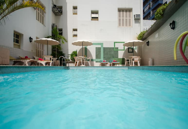 호텔 몬테 알레그레 , 리우데자네이루, 야외 수영장