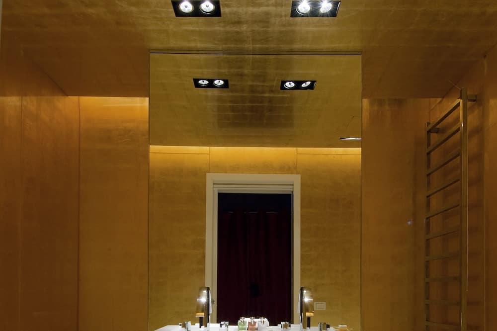 Prezidentský apartmán, výhľad na kanál (Grand) - Kúpeľňa