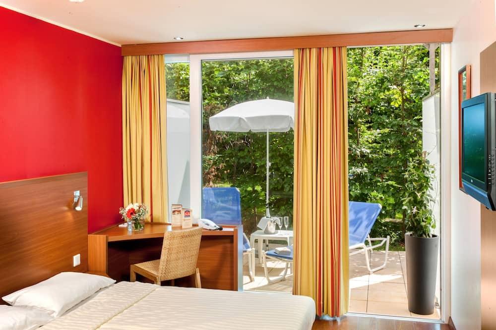 غرفة مزدوجة عادية - سرير كبير - في مبنى ملحق - شُرفة