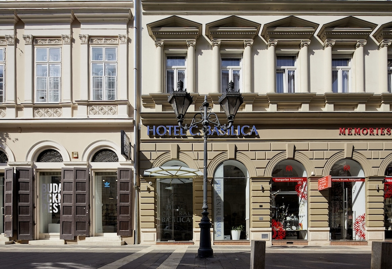 Hotel Central Basilica, Budapest, Voorkant hotel