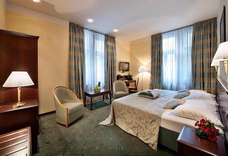 EA Hotel Downtown, Prag, Executive dubbelrum, Gästrum