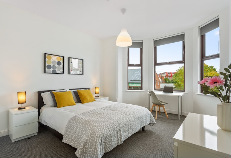 River Rooms Nottingham, Nottingham, Habitación triple, baño privado (Adjoining rooms), Habitación