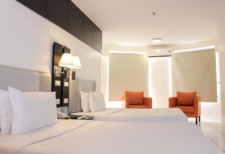 Octagon Mansion Hotel, Manila, Pokoj Basic se dvěma jednolůžky, Pokoj