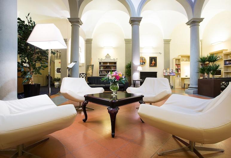 Relais Hotel Centrale - Residenza D 'Epoca, Florenz, Sitzecke in der Lobby