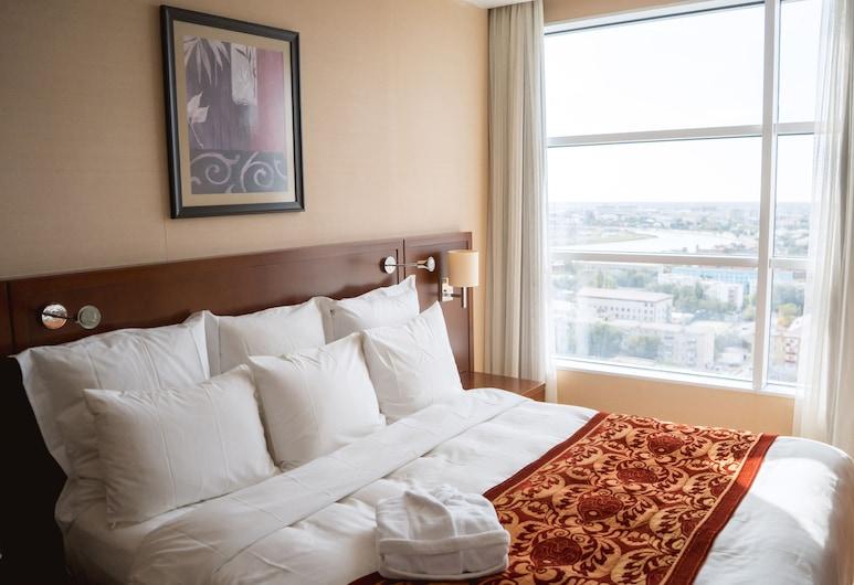 Marriott Executive Apartments Atyrau, Atyrau, Külaliskorter, 1 magamistoaga, vaade linnale, Vaade toast