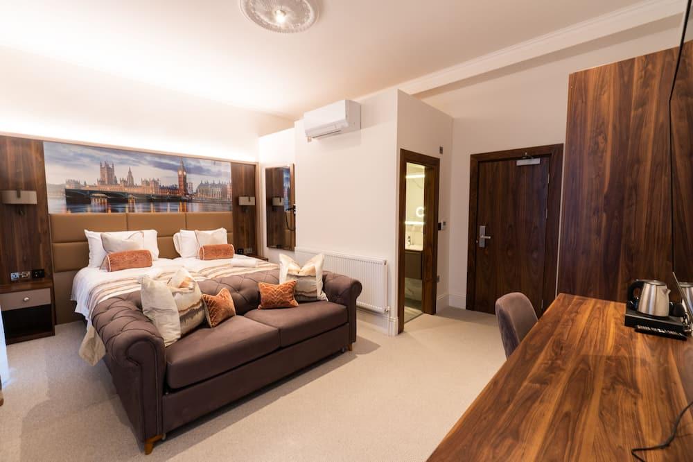 Executive Double Room, Balcony, Garden View - Gjesterom