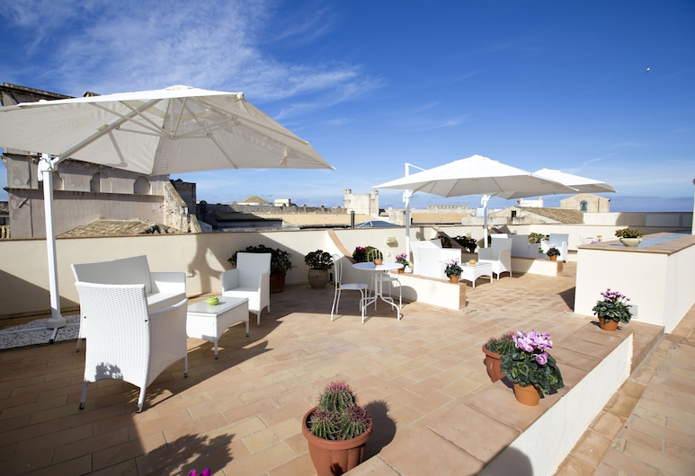 BADIA NUOVA Apart Hotel , Restaurant , Rooftop Lounge Bar, Trapani, Terasa