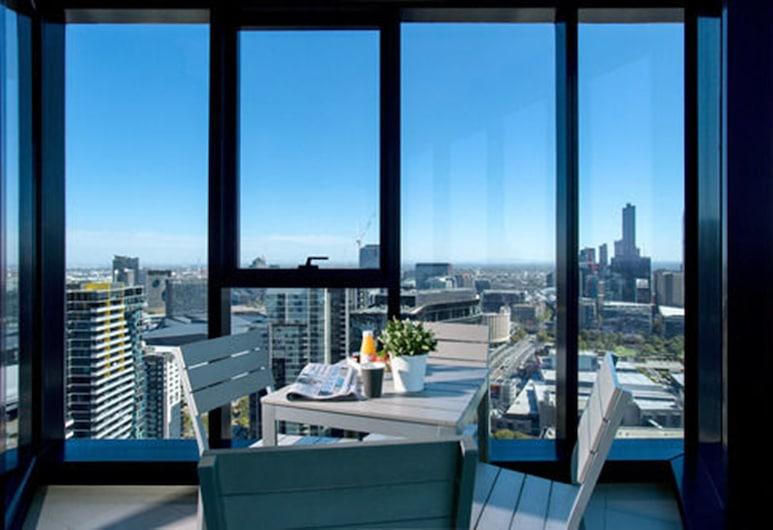 Aria Hotel Apartments, Southbank, Premier apartman, 3 spavaće sobe, pristup bazenu, Balkon