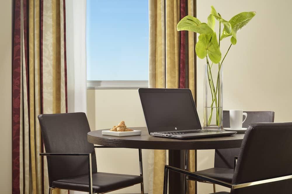 Suite empresarial - Sala de estar