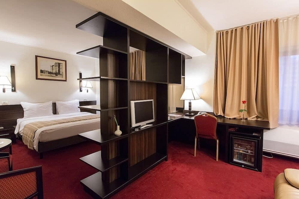 Suite Júnior, 1 cama queen-size - Área de Estar