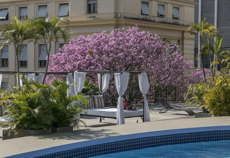 Hotel Guarani Asuncion, Asunción, Piscine en plein air