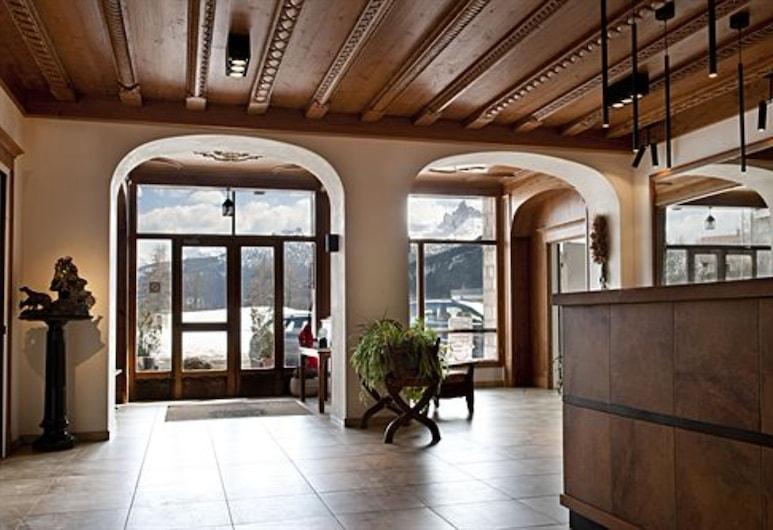 Hotel Villa Argentina, Cortina d'Ampezzo, Rezeption