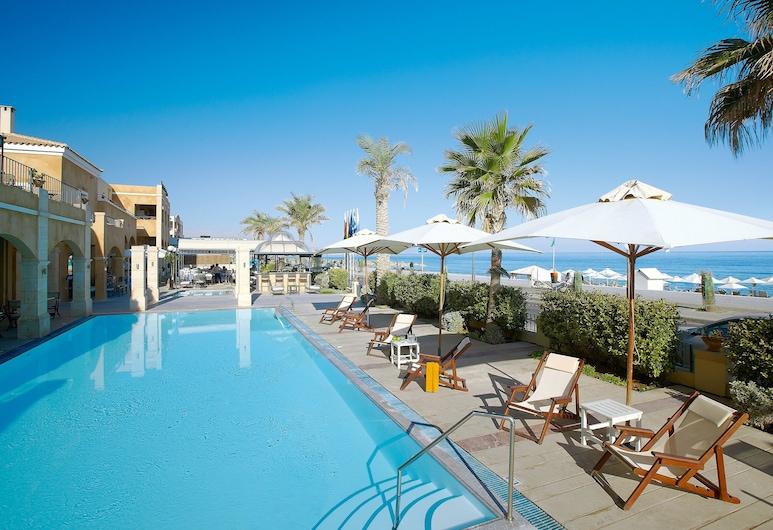 بلازا بيتش هاوس, Rethymno, منظر من الفندق