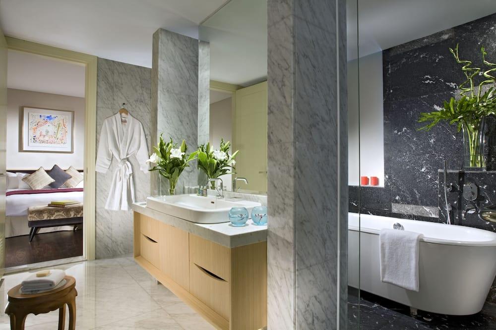 Lägenhet - 1 sovrum (Brown Suite) - Badrum