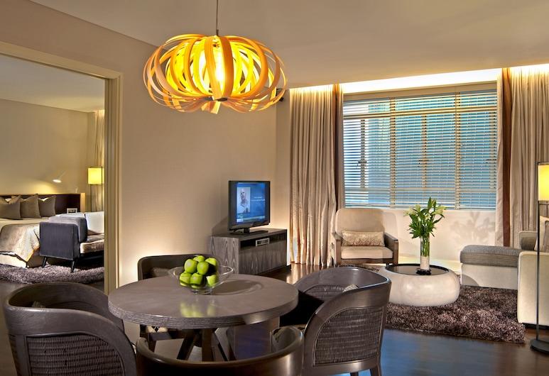 Ascott Raffles Place Singapore (SG Clean), Singapore, Appartement, 1 slaapkamer (Brown Suite), Kamer