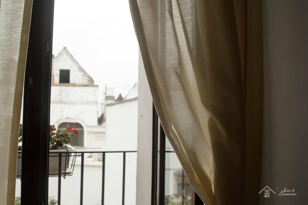 شقة ديلوكس - منظر للمدينة - في طابق علوي - شُرفة