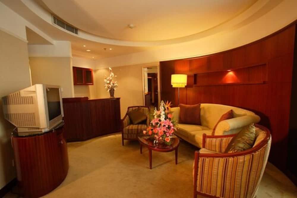 Suite empresarial, 1 habitación - Sala de estar