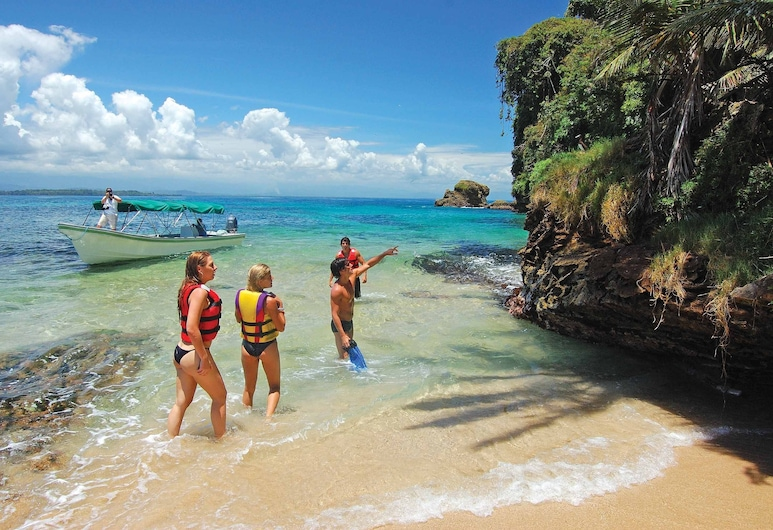 Playa Tortuga Hotel Beach And Resort, Bocas del Toro, ชายหาด