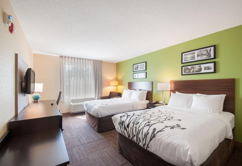 Sleep Inn And Suites, Dover, Habitación doble estándar, 2 camas dobles, para no fumadores, Habitación