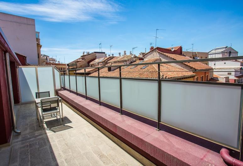 Petit Palace Plaza Mayor, Madrid, Standard-Doppelzimmer, Terrasse, Terrasse/Patio