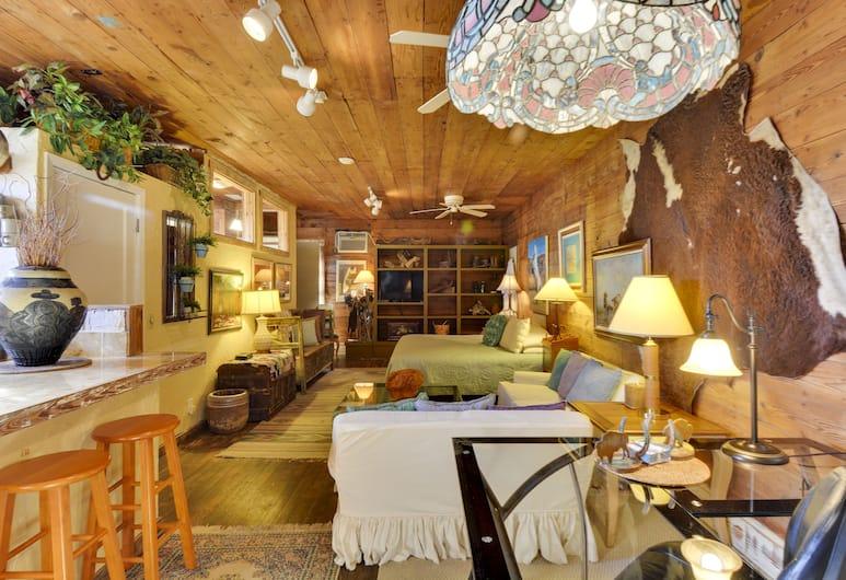 Austin's Inn at Pearl Street, Austin, Texas hideaway room, Lõõgastumisala