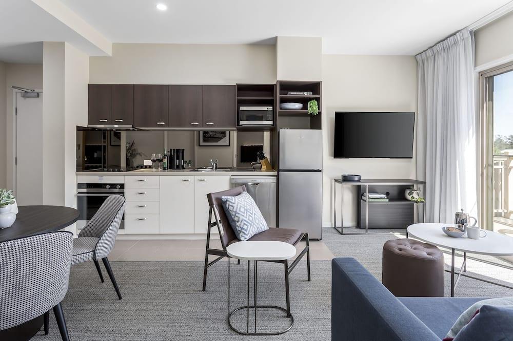 Superior-Apartment, 2Schlafzimmer - Wohnbereich
