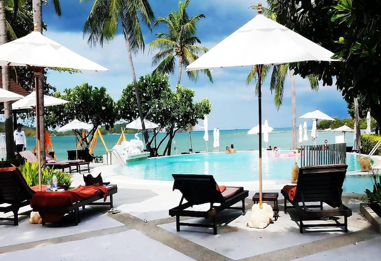 Iyara Beach Hotel & Plaza, Ko Samui, Piscine en plein air