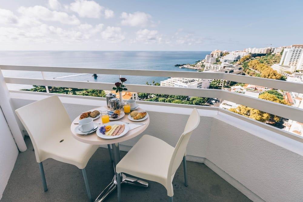 Superior Twin kamer, Uitzicht op zee - Balkon