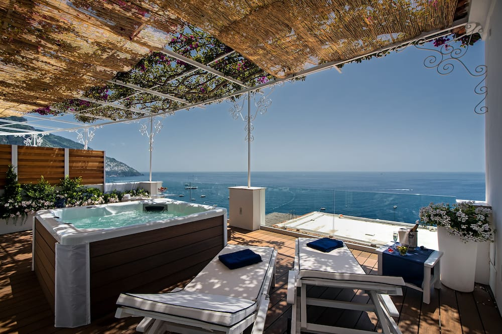 Deluxe Suite wit Spa and sea view - Terrace/Patio