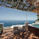 Deluxe Suite wit Spa and sea view - Balcony