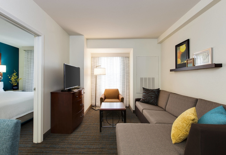 Residence Inn Marriott Chicago Midway, Chicago, Suite, 1 Bedroom, Non Smoking, Guest Room