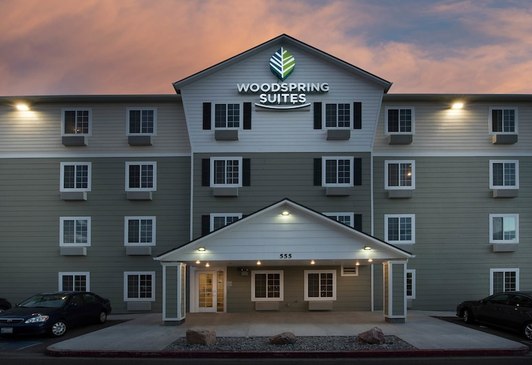 WoodSpring Suites Wilmington, Wilmington, Hoteleingang