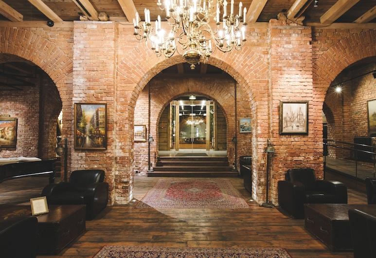 Promenade Hotel Liepaja, Liepaja, Interior de la entrada