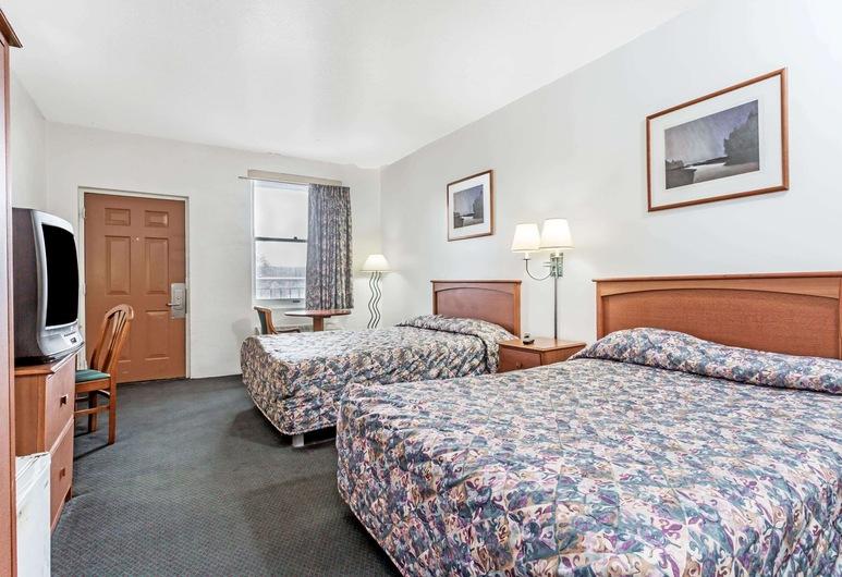 Knights Inn Wendover, Wendover, Habitación, 2 camas Queen size, para no fumadores, Habitación