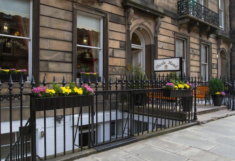 Edinburgh Thistle Hotel, Edinburgh, Otelin Önü