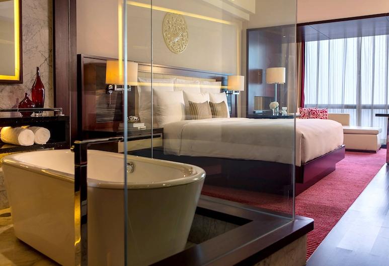 Renaissance Beijing Capital Hotel, בייג'ינג, חדר, 2 מיטות זוגיות, ללא עישון, חדר אורחים