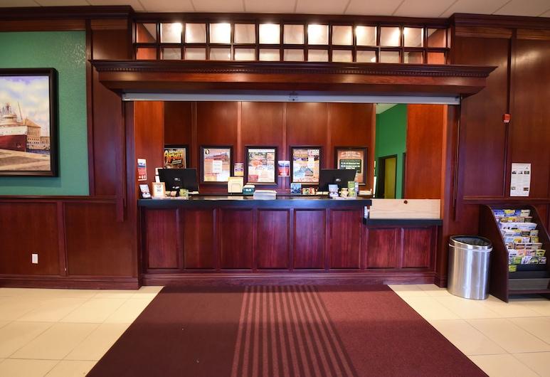 Mackinaw Beach & Bay Inn & Suites, Mackinaw City, Recepción