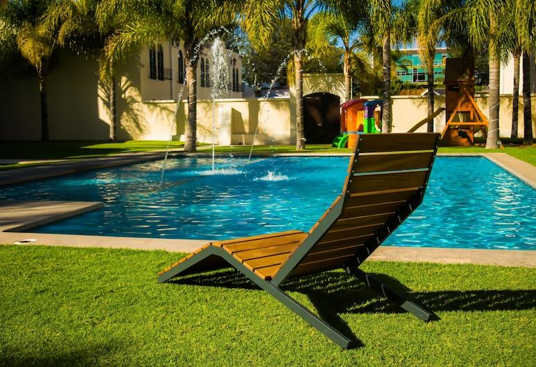 Hotel Aguascalientes, אגואס קליינטס, בריכה חיצונית