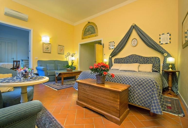 La Casa del Garbo - Luxury Rooms & Suite, Florencie, Apartmá s ložnicí a obývacím koutem, Pokoj