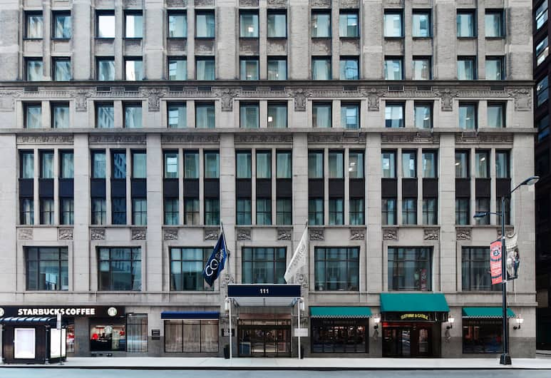 Central Loop Hotel, Chicago, Hotellets front