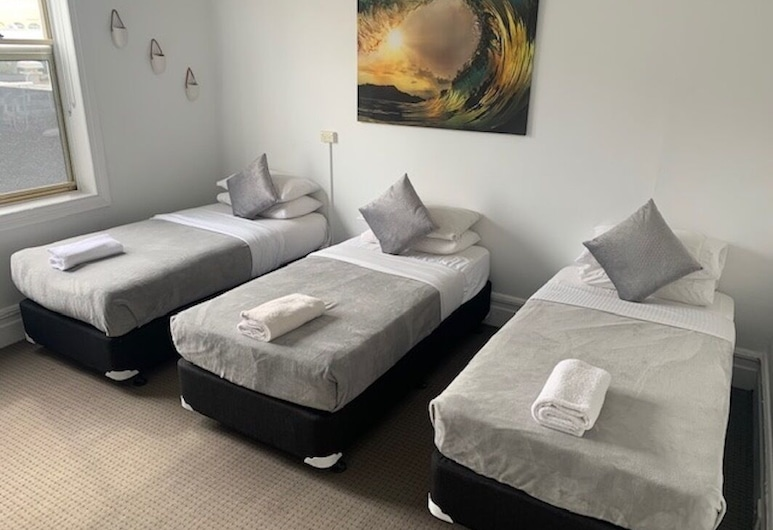 Sandy Bottoms Guesthouse, Manly, Standard Triple Room, 3 Twin Beds, Shared Bathroom, Guest Room