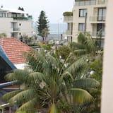 Chambre Double, coin cuisine, vue partielle sur la mer - Vue sur la plage/la mer