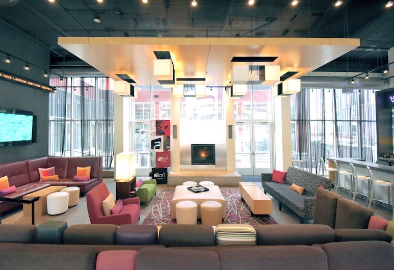 Aloft Minneapolis, Minneapolis, Poczekalnia hotelowa